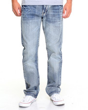 Basic Essentials - Double Chevron Flap - Pocket Denim Jeans