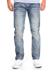 Basic Essentials - Slim - Straight Flap - Pocket Denim Jeans