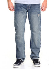 Basic Essentials - Ornate Flap - Pocket Denim Jeans