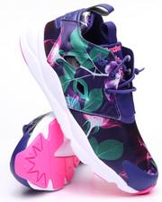 Sneakers - FURYLITE FLORAL SNEAKERS