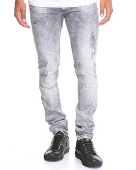 Denim - Distressed Grey Jean