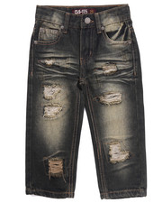 Arcade Styles - RIP AND REPAIR JEANS (2T-4T)