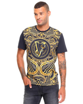 Shirts - Gold Deco All Over Tee