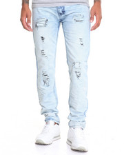 Jeans - Crinkle - Wash Denim Jeans
