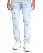 Crinkle - Wash Denim Jeans