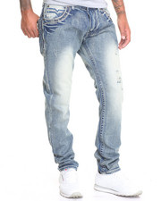 Jeans - Modern Flap - Pocket Slim - Straight Denim Jeans