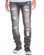 Jeans - Rips & Tears Denim Jeans