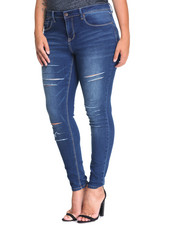 Bottoms - Kenai Skinny Jean (plus)