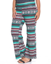 Bottoms - Bow Palazzo Pants (plus)