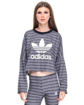 Sweaters - FARM Pavao Crop Sweater