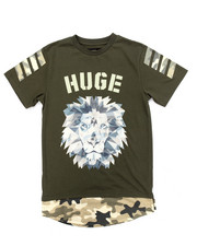 Sizes 8-20 - Big Kids - MODERN CAMO EXTENDED TEE (8-20)