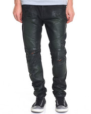 Jeans - Waxed Hunter Moto Jean