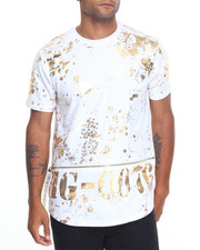 Men - Foil Print T-Shirt