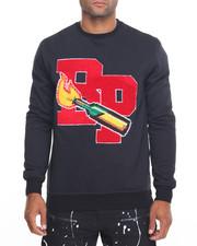 Pullover Sweatshirts - B P Molotov Crewneck Sweatshirt