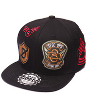 Arcade Styles - MILITARY PATCH SNAPBACK
