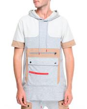 T-Shirts - Multi Tech S/S Hoodie