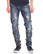 Distressed Denim Jean