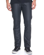 Enyce - Quilted Moto Denim Jeans