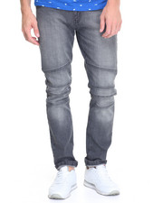 Men - Grey Moto Jean