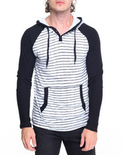 Men - Sketchy Stripe Hoody