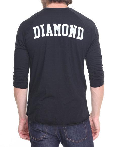 Buy un polo raglan tee men 39 s shirts from diamond supply co for Diamond supply co polo shirts