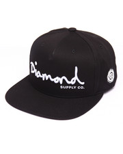 Hats - OG Script Snapback Cap