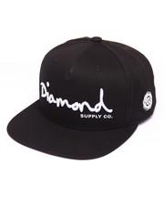 Diamond Supply Co - OG Script Snapback Cap