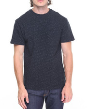 Men - Black Facet Pocket Tee