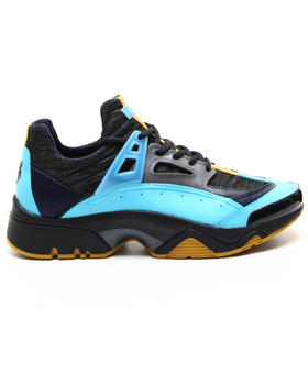 Shoes - SONIC-TURQUOISE RETRO TECHNICAL SNEAKERS