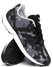 Footwear - ZX Flux J CAMO SNEAKERS (3.5-7)