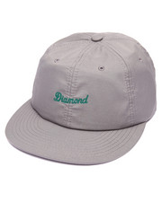 Men - Diamond Script Clipback Cap