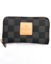 Crooks & Castles - Zip Wallet - Check