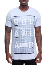 Men - Dot Print Graphic Tee