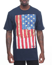 Men - American Flag T-Shirt