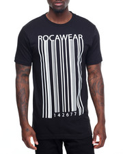 Men - Barcode Print Graphic Tee