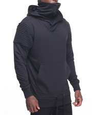 Men - Biker Hoody w Mask