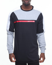 Shirts - Biker L/S Crewneck