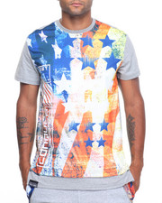 Buyers Picks - American Flag Scallop Tee