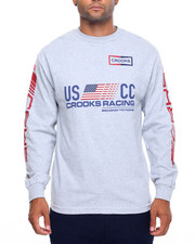 Crooks & Castles - U.S. Crooks Racing L/S T-Shirt