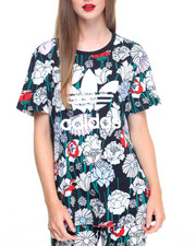 Adidas - YOUNG WILD AND FREE BOYFRIEND TREFOIL TEE