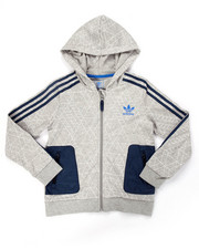 Hoodies - Junior FULL ZIP GEO PRINT HOODY (8-20)