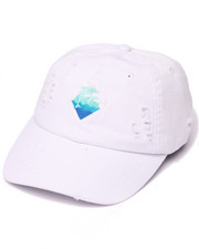 Men - WAVES DENIM STRAPBACK HAT