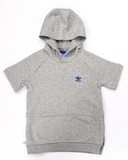 Hoodies - Junior sport luxe S/S HOODY (8-20)