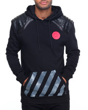 Men - Studded Luxury Pullover Hoodie