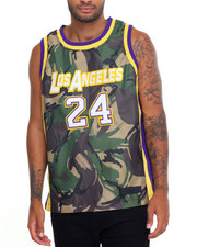 Men - MAMBA CAMO PYTHON - TWILL - TRIM SILK - LINED BASKETBALL JERSEY