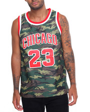 Men - G. O. A. T. CAMO PYTHON - TWILL - TRIM SILK - LINED BASKETBALL JERSEY