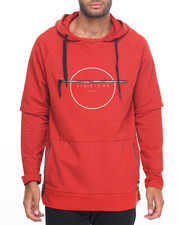Men - Zipper Back Pullover Hoodie