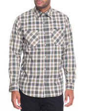 Akademiks - Spring Plaid L/S Button-Down