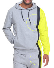 Men - Heat Seal Zipper Pullover Hoodie
