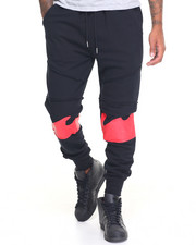 Jeans & Pants - WAVES FLEECE JOGGERS